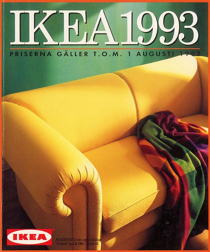 Historique des catalogues IKEA depuis 1955 30