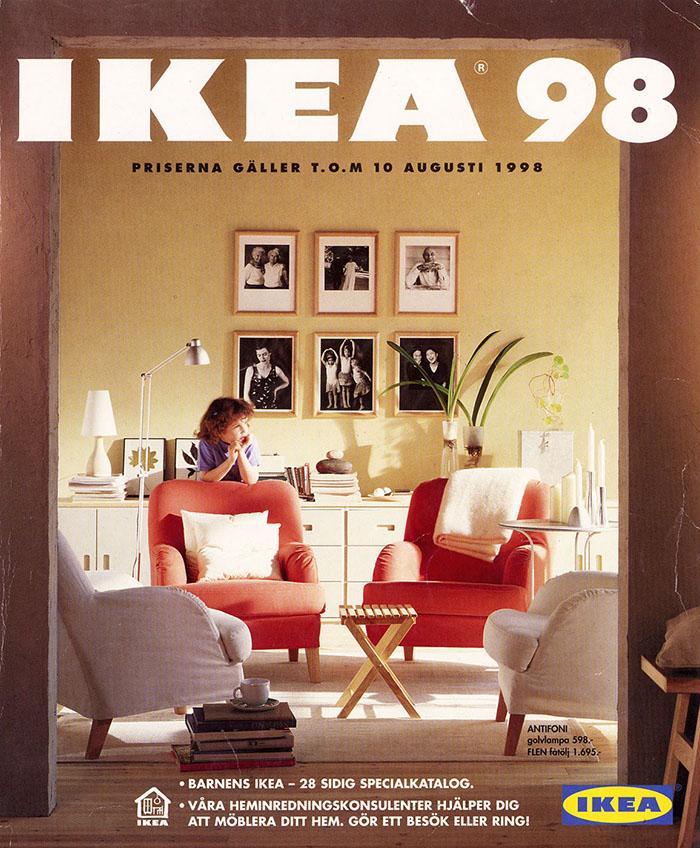 Historique des catalogues IKEA depuis 1955 33