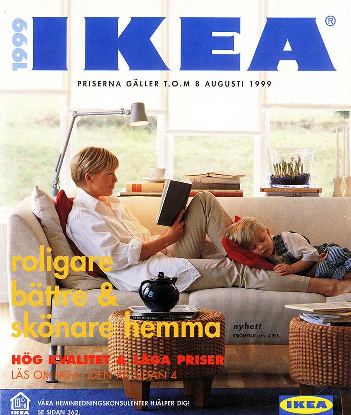 Historique des catalogues IKEA depuis 1955 34