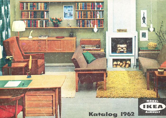Historique des catalogues IKEA depuis 1955 5