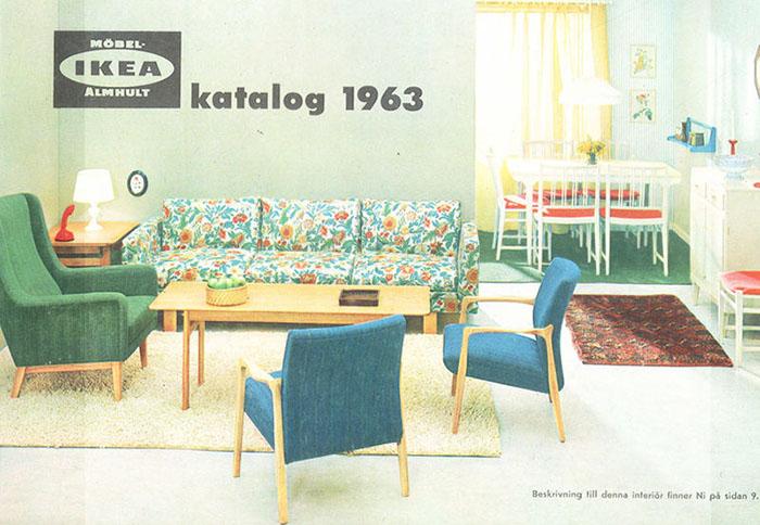 Historique des catalogues IKEA depuis 1955 6
