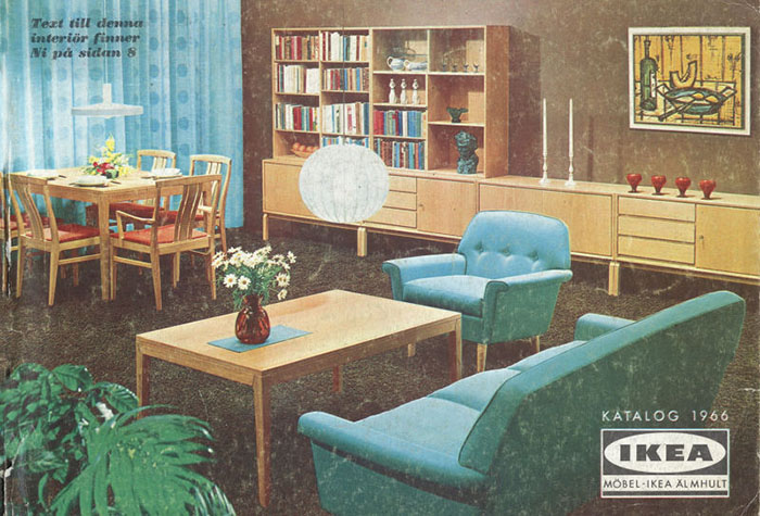 Historique des catalogues IKEA depuis 1955 9
