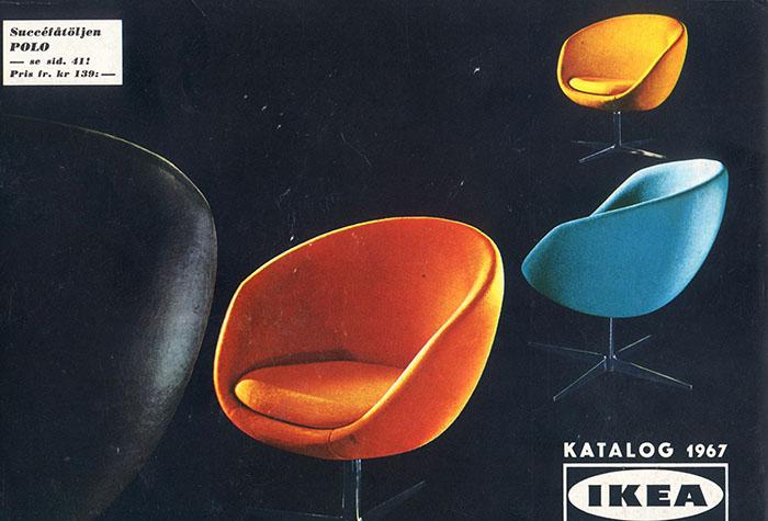 Historique des catalogues IKEA depuis 1955 10