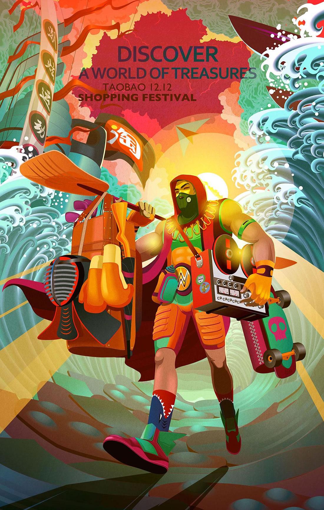 Inspiration - 130 Affiches Publicitaires Graphiques de Mars 2018 17