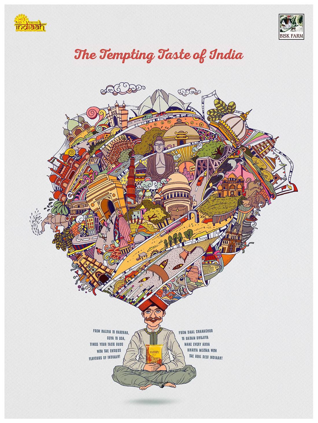 Inspiration - 130 Affiches Publicitaires Graphiques de Mars 2018 3