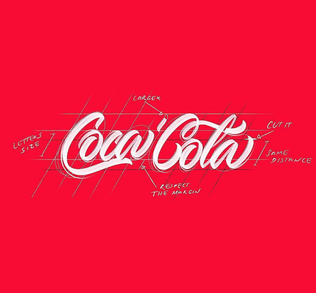 [Typographie] Des logos célèbres Version Lettering et c'est magnifique 2
