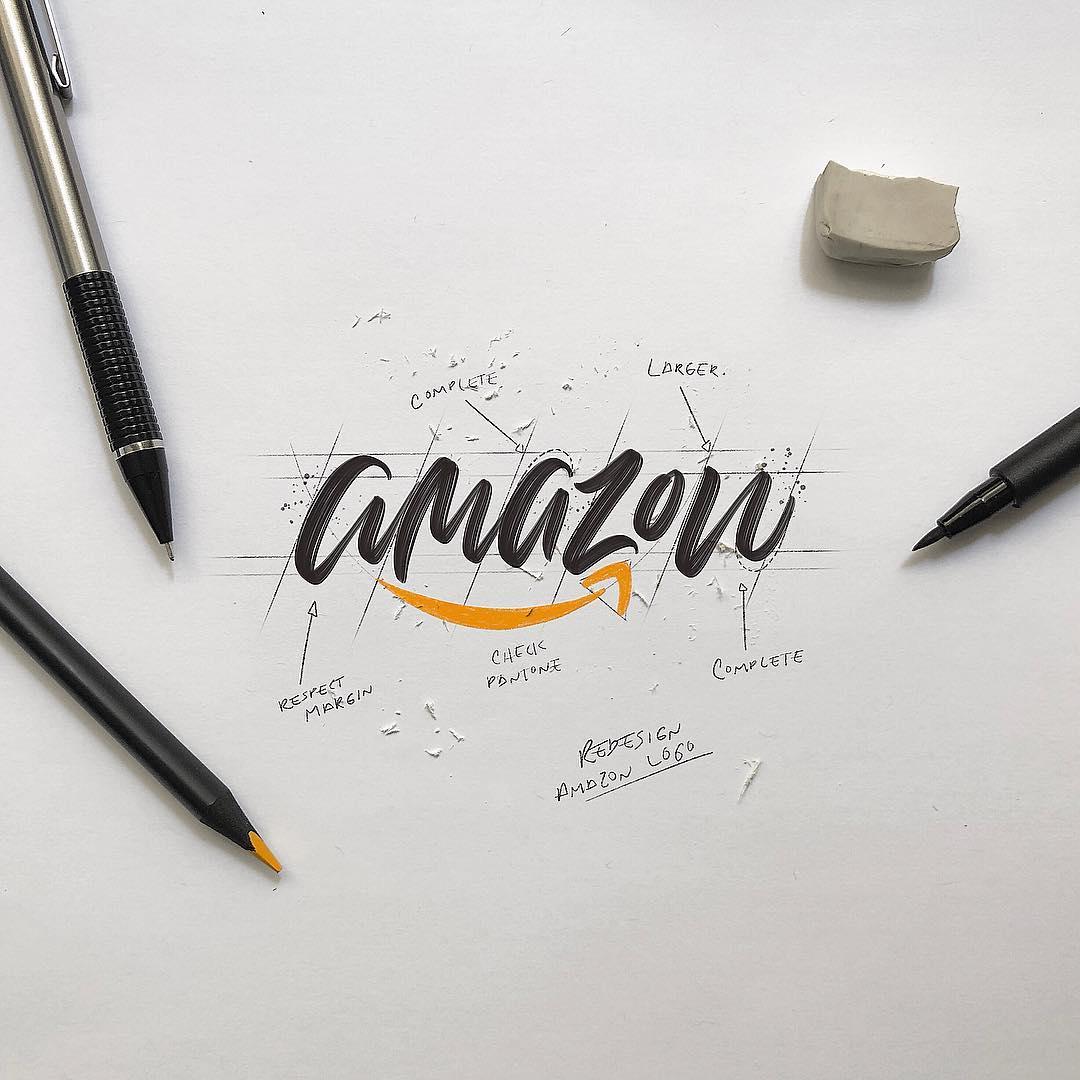 [Typographie] Des logos célèbres Version Lettering et c'est magnifique 9