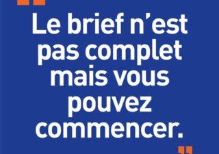 [Blague de Designer] Client VS Agence - Un Flyer format Web Merci (humour noir?) 1
