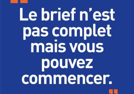 [Blague de Designer] Client VS Agence - Un Flyer format Web Merci (humour noir?) 2