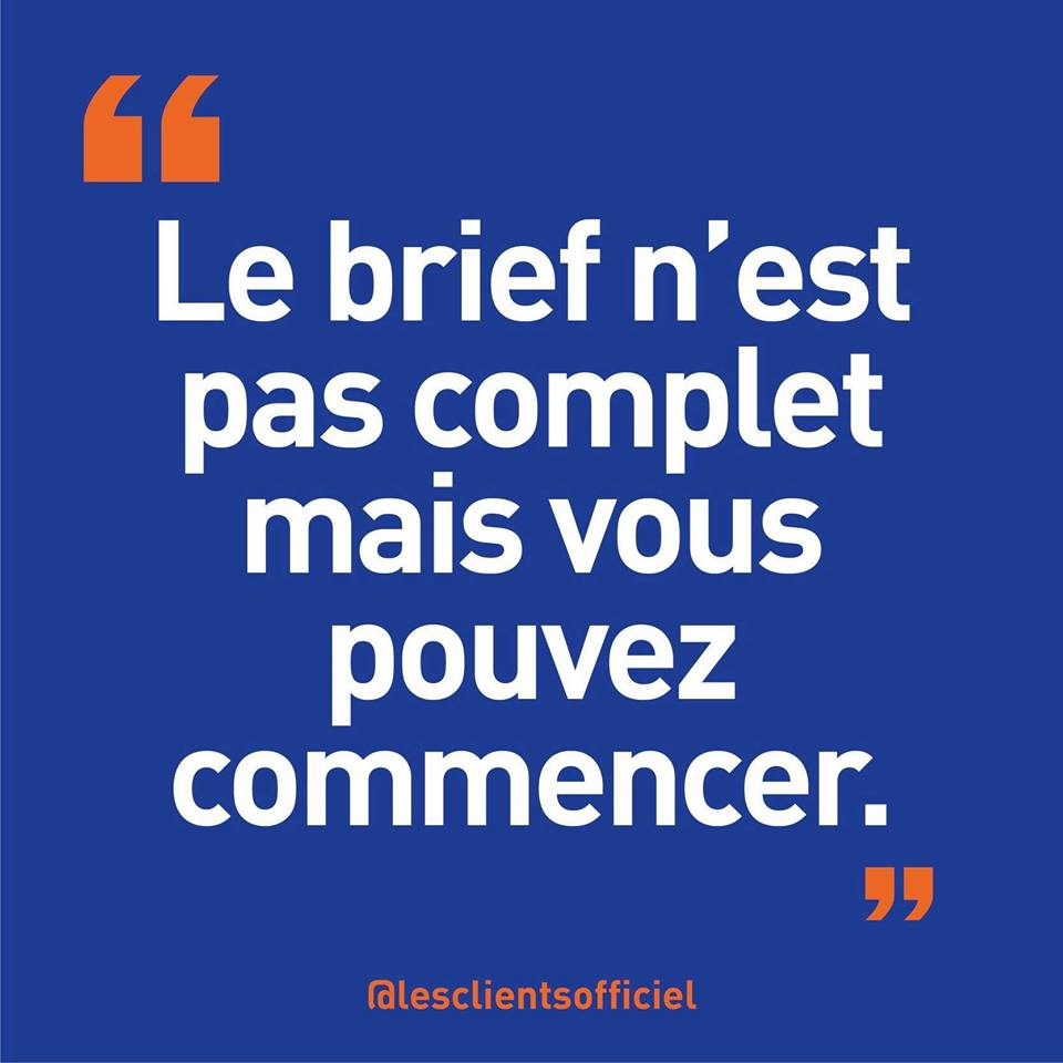 [Blague de Designer] Client VS Agence - Un Flyer format Web Merci (humour noir?) 12