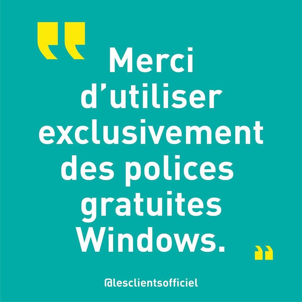 [Blague de Designer] Client VS Agence - Un Flyer format Web Merci (humour noir?) 15