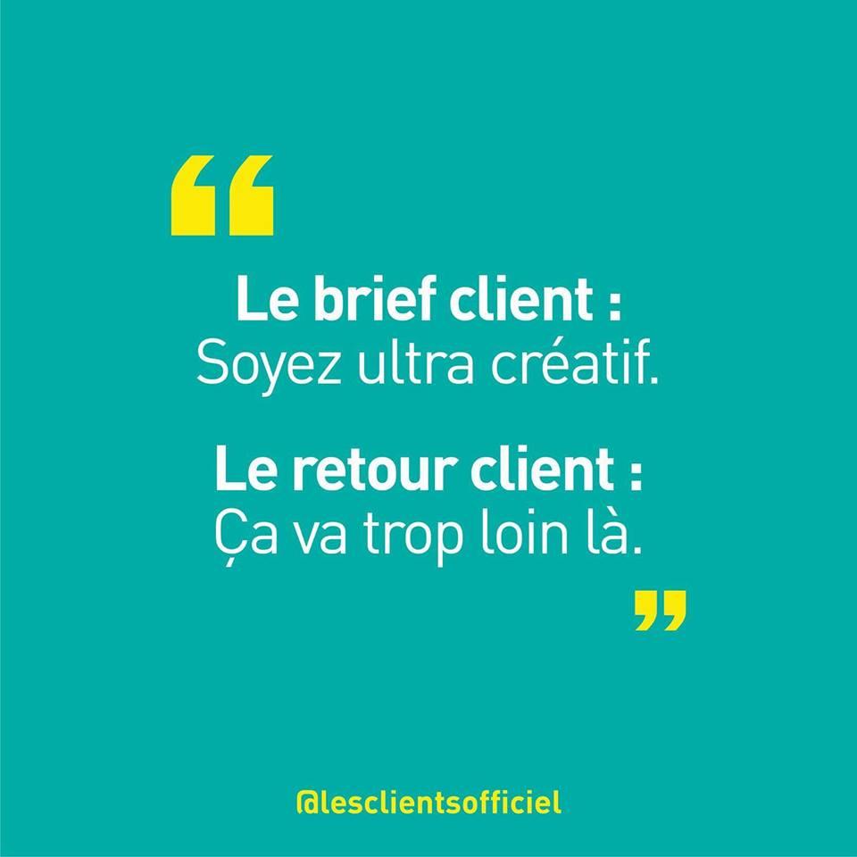[Blague de Designer] Client VS Agence - Un Flyer format Web Merci (humour noir?) 16
