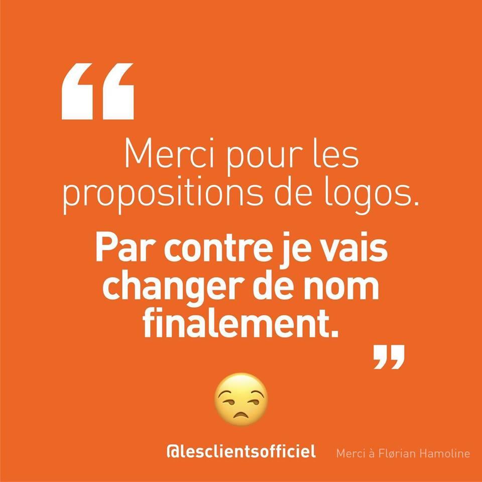 [Blague de Designer] Client VS Agence - Un Flyer format Web Merci (humour noir?) 20