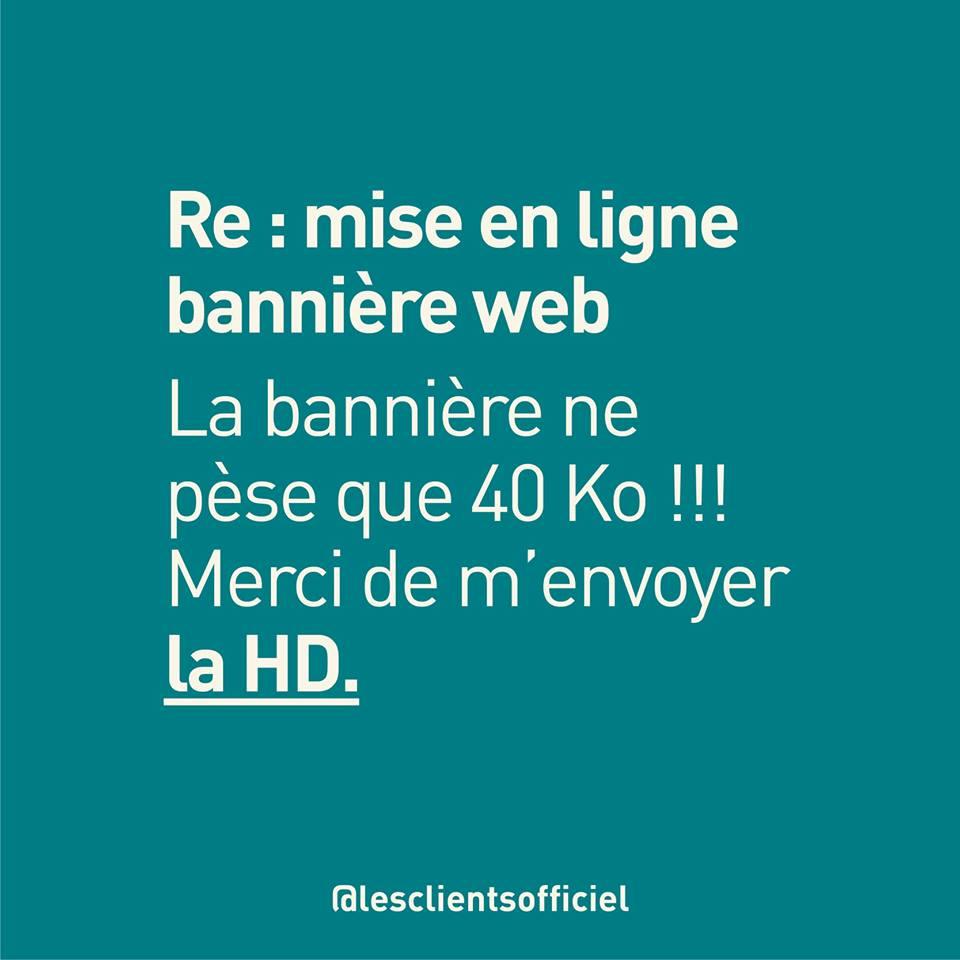 [Blague de Designer] Client VS Agence - Un Flyer format Web Merci (humour noir?) 3