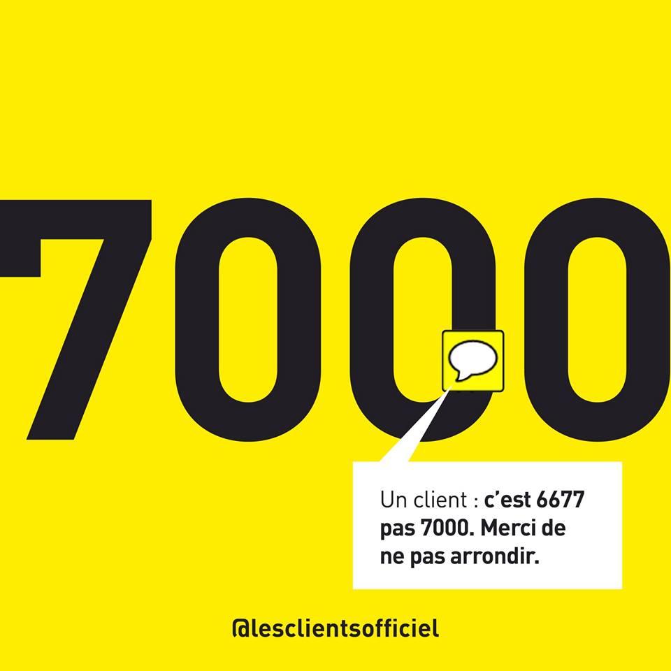 [Blague de Designer] Client VS Agence - Un Flyer format Web Merci (humour noir?) 26