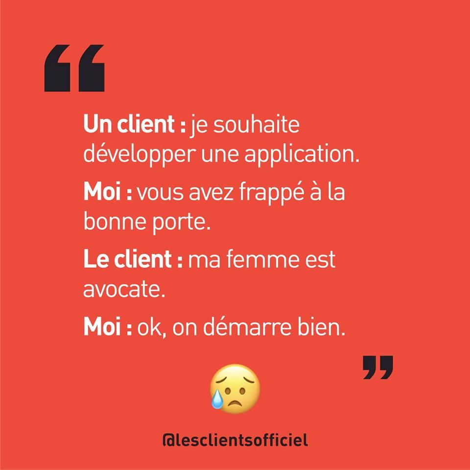[Blague de Designer] Client VS Agence - Un Flyer format Web Merci (humour noir?) 29