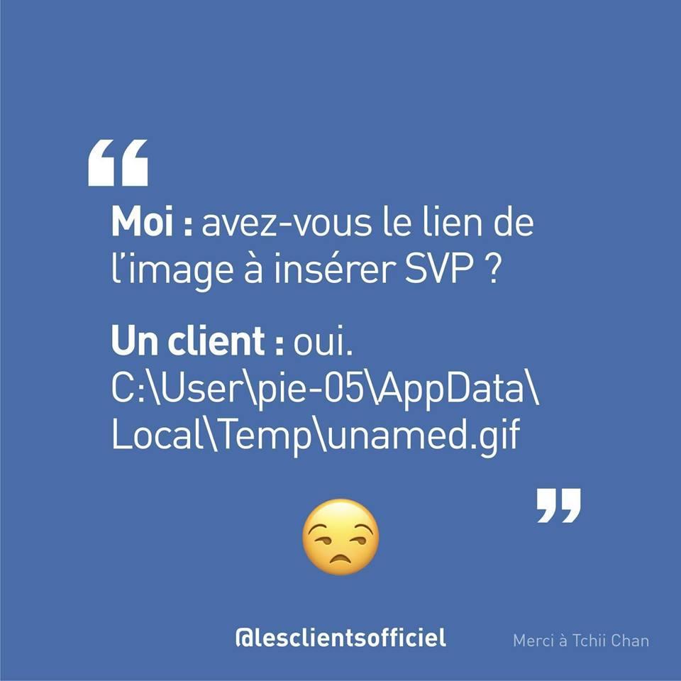 [Blague de Designer] Client VS Agence - Un Flyer format Web Merci (humour noir?) 9