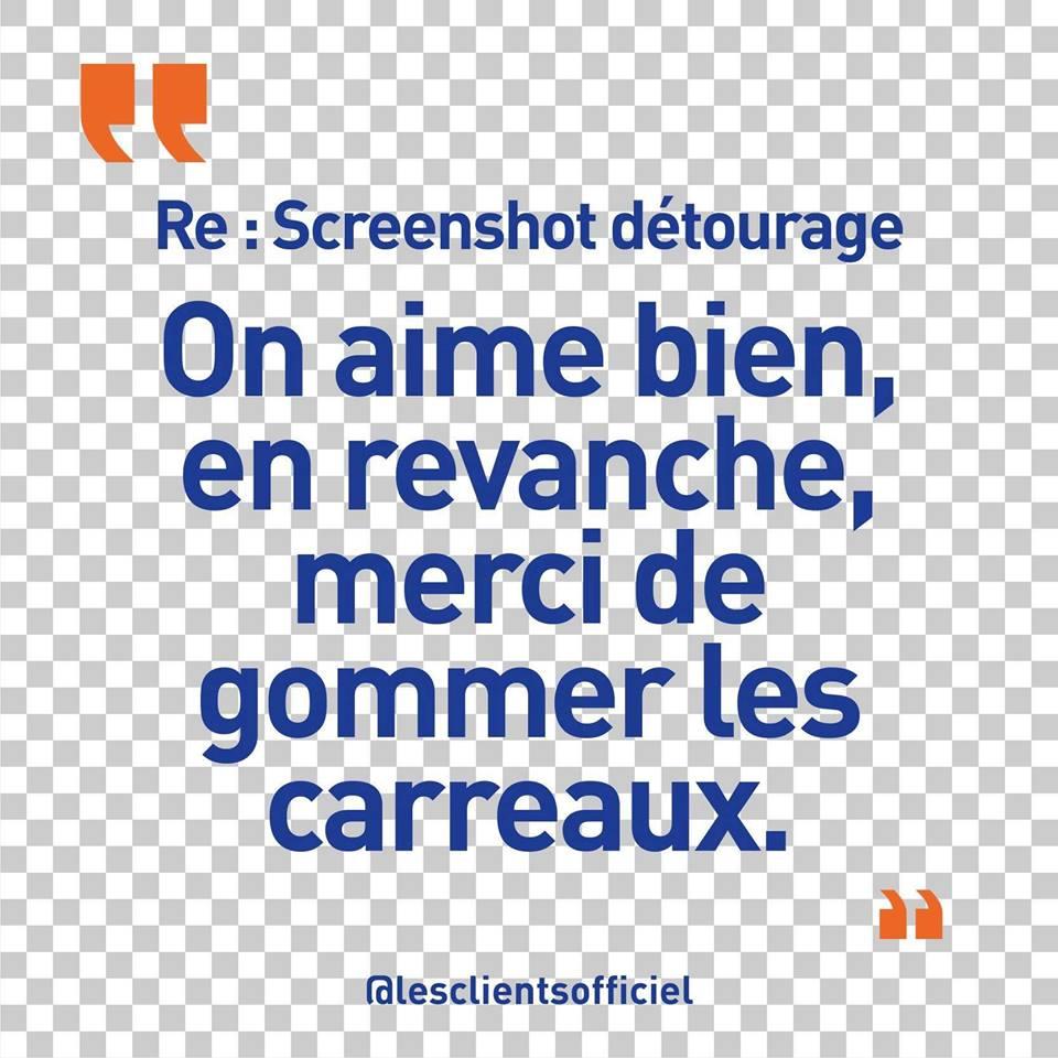 [Blague de Designer] Client VS Agence - Un Flyer format Web Merci (humour noir?) 10