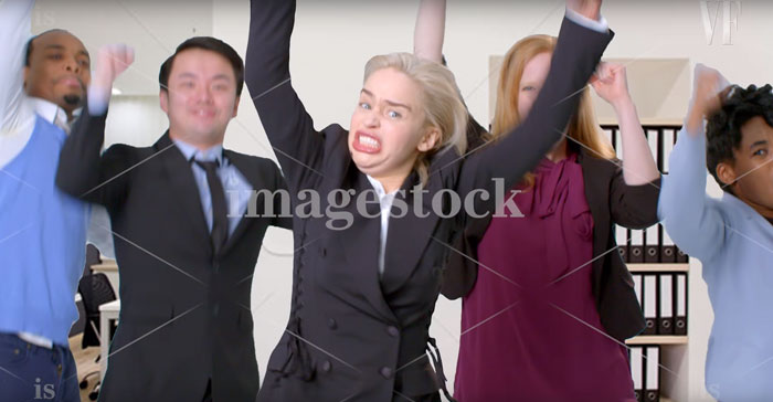[Fun] Emilia Clarke de Game of Thrones dans des Photos Stock 7