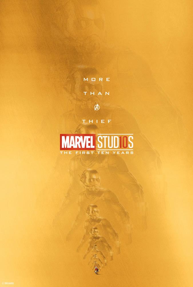 Marvel fête ses 10 ans avec une série de posters en OR 2