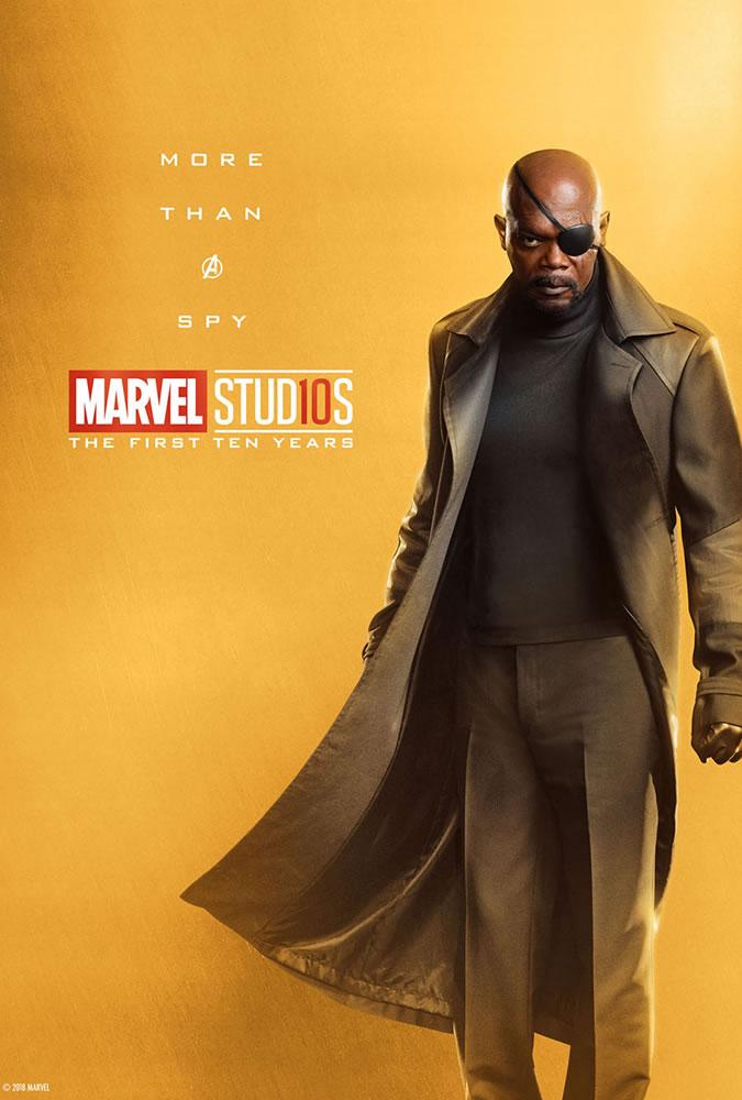 Marvel fête ses 10 ans avec une série de posters en OR 11