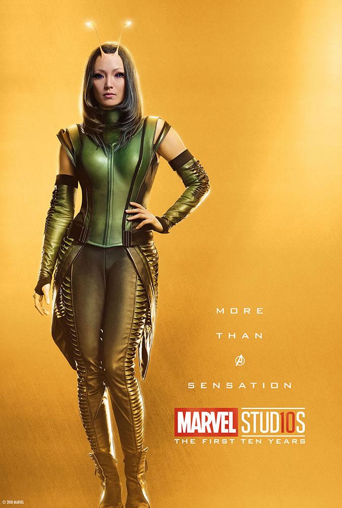 Marvel fête ses 10 ans avec une série de posters en OR 20