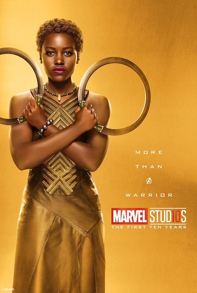 Marvel fête ses 10 ans avec une série de posters en OR 21