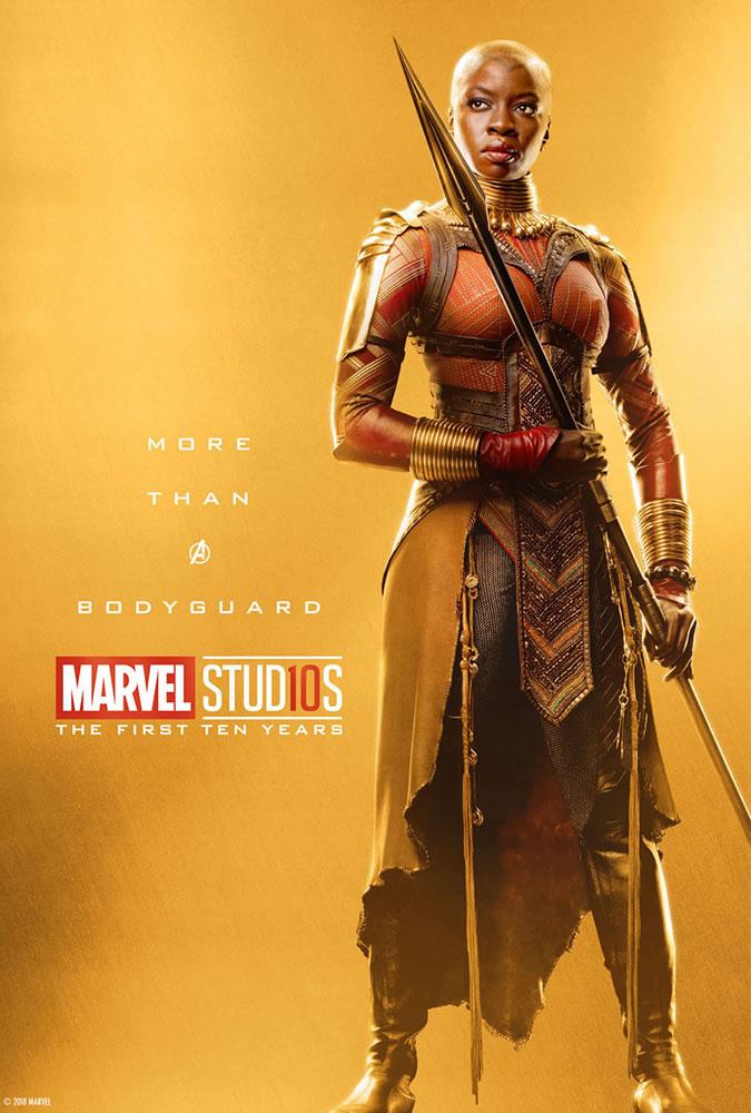 Marvel fête ses 10 ans avec une série de posters en OR 23