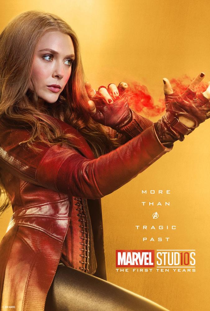 Marvel fête ses 10 ans avec une série de posters en OR 25
