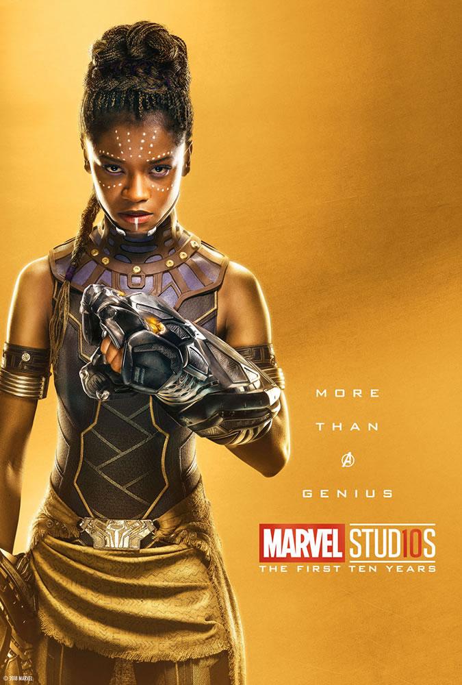 Marvel fête ses 10 ans avec une série de posters en OR 26