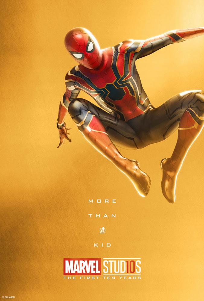 Marvel fête ses 10 ans avec une série de posters en OR 27