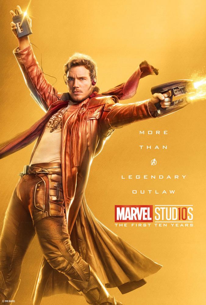 Marvel fête ses 10 ans avec une série de posters en OR 28