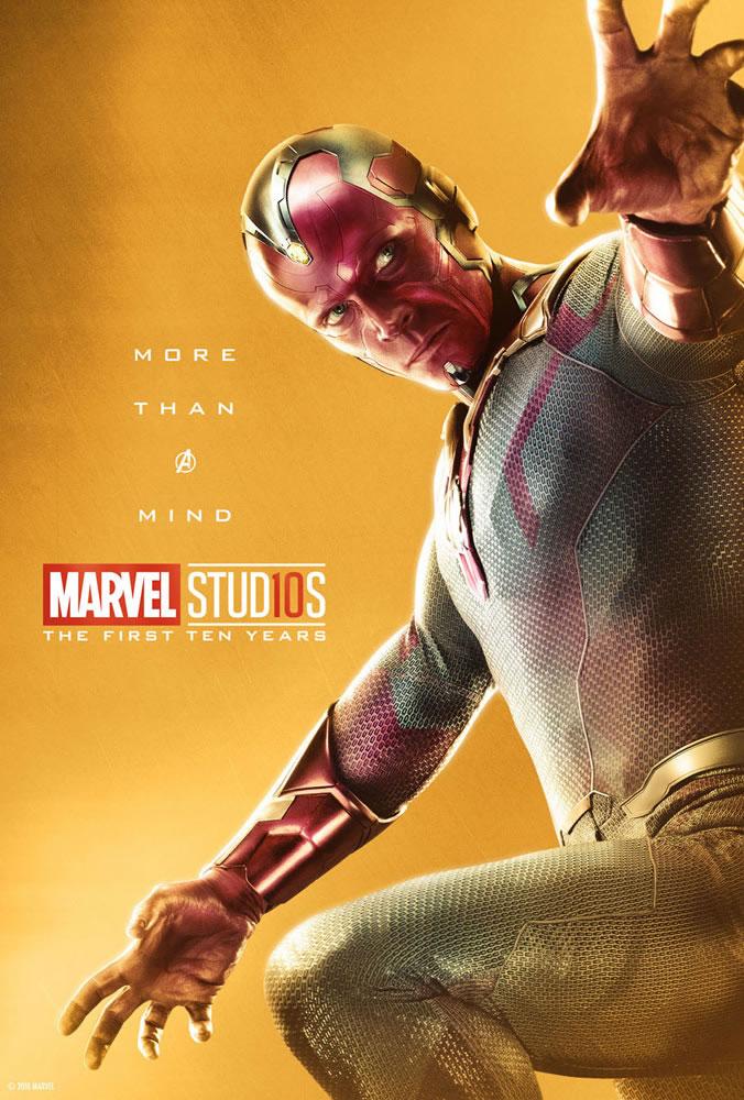 Marvel fête ses 10 ans avec une série de posters en OR 31