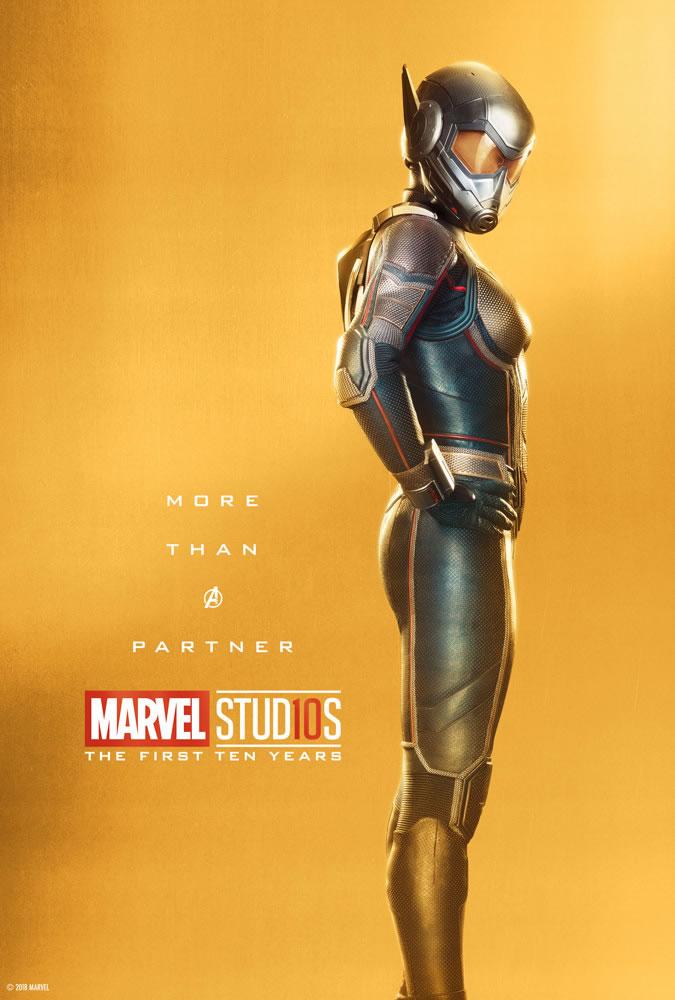 Marvel fête ses 10 ans avec une série de posters en OR 33