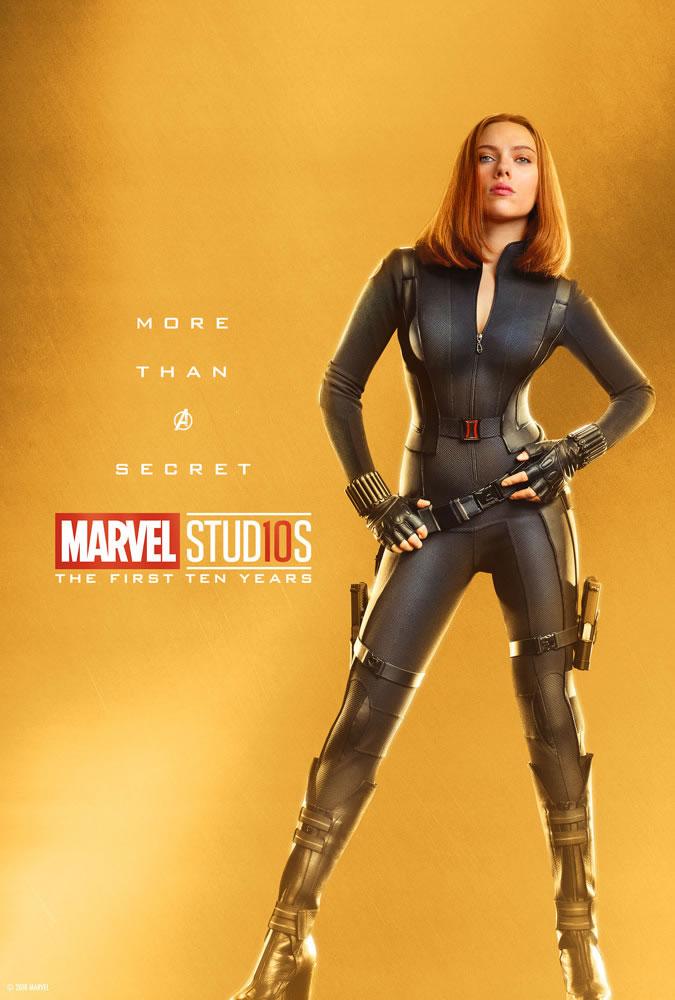 Marvel fête ses 10 ans avec une série de posters en OR 5