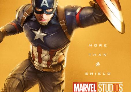 Marvel fête ses 10 ans avec une série de posters en OR 3