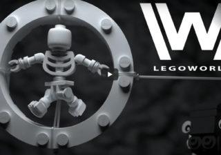 Ce Générique de la série WESTWORLD en LEGO est magnifique 1