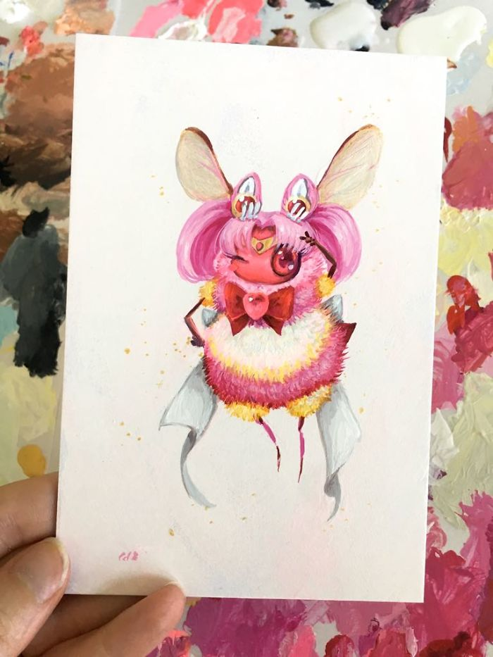 [Illustration] Des abeilles en mode Superhéros 11