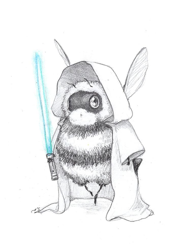 [Illustration] Des abeilles en mode Superhéros 18