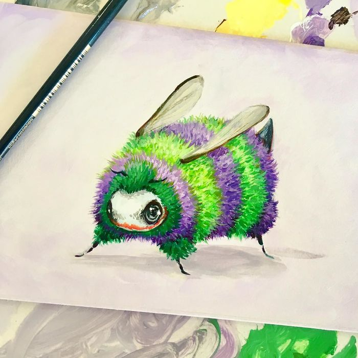 [Illustration] Des abeilles en mode Superhéros 3