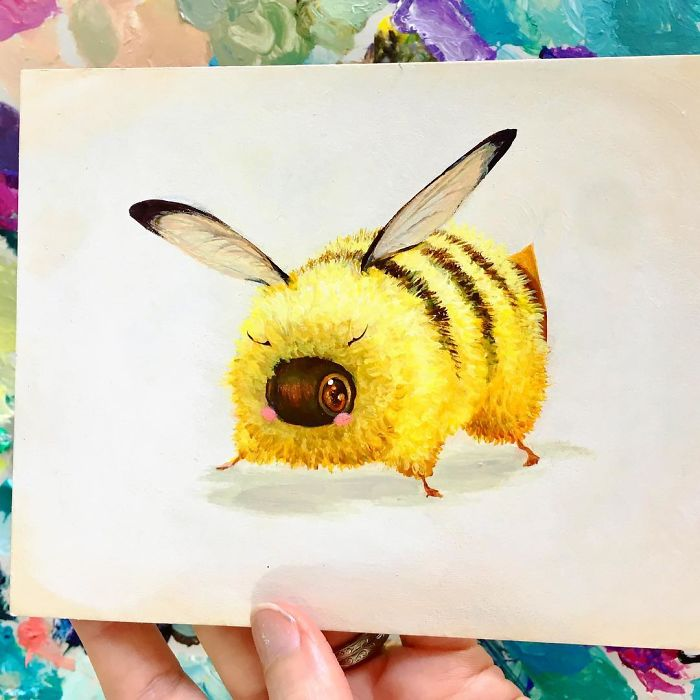 [Illustration] Des abeilles en mode Superhéros 5