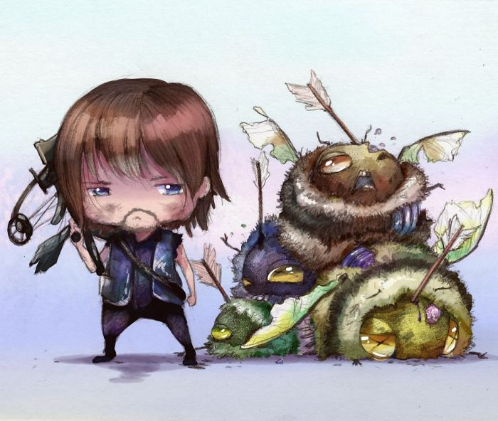 [Illustration] Des abeilles en mode Superhéros 6