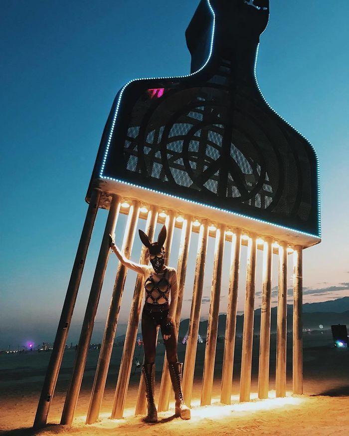 Les meilleures photos du Burning Man 2018 et ses créations grandioses 13
