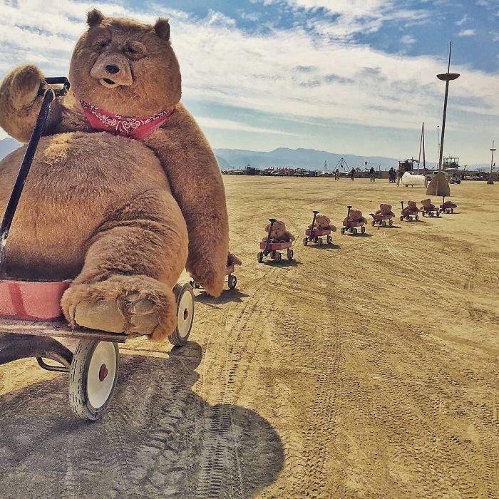 Les meilleures photos du Burning Man 2018 et ses créations grandioses 14