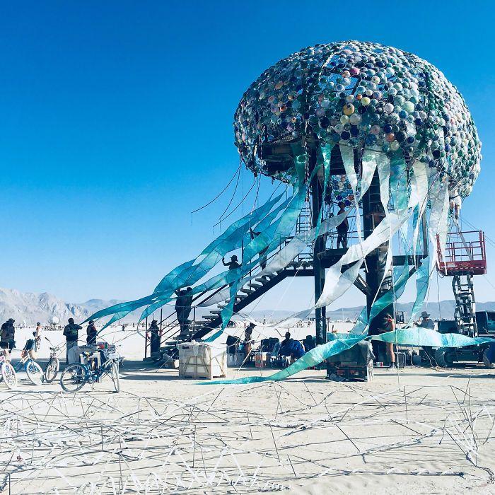 Les meilleures photos du Burning Man 2018 et ses créations grandioses 15