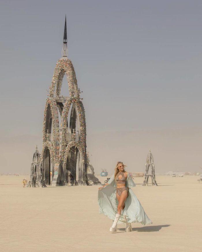 Les meilleures photos du Burning Man 2018 et ses créations grandioses 17