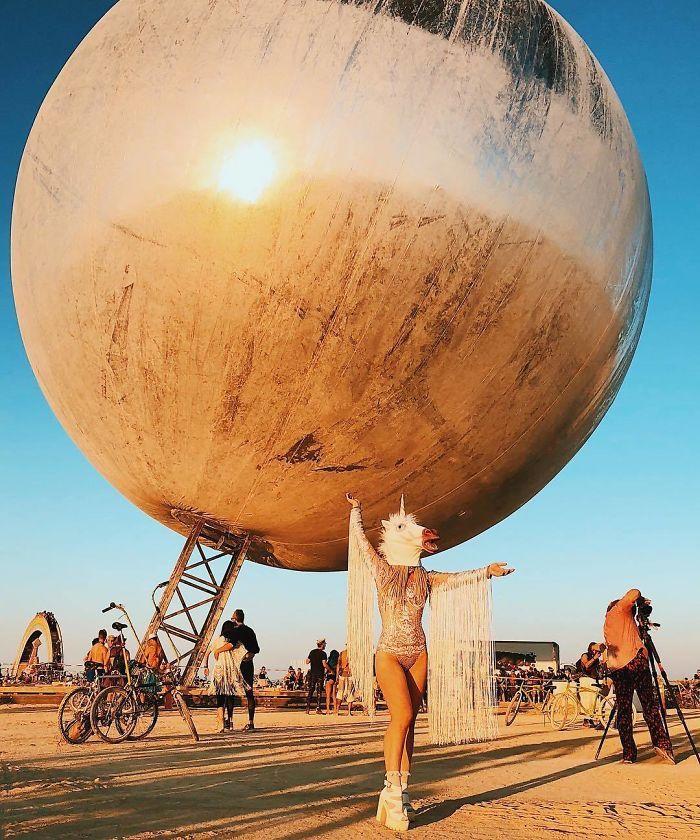 Les meilleures photos du Burning Man 2018 et ses créations grandioses 18