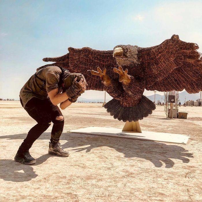 Les meilleures photos du Burning Man 2018 et ses créations grandioses 19