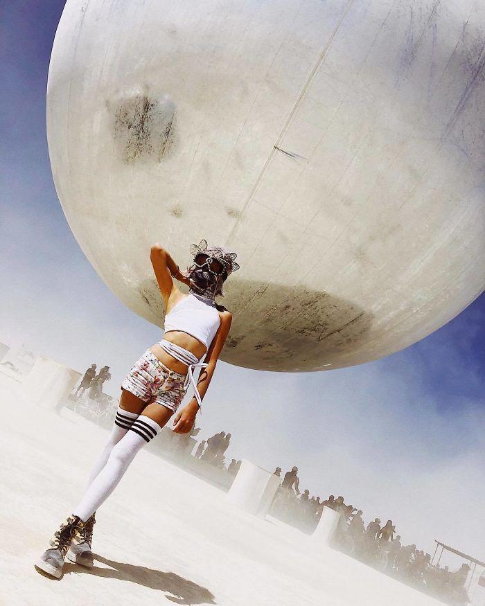 Les meilleures photos du Burning Man 2018 et ses créations grandioses 23