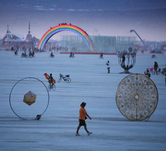 Les meilleures photos du Burning Man 2018 et ses créations grandioses 24